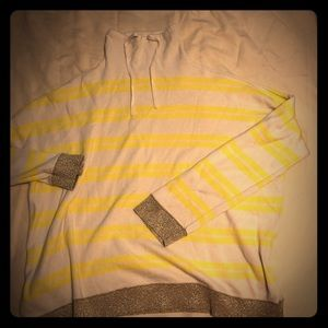 EUC Lou & Grey Yellow and Gold Sweater